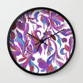 Lilac dream Wall Clock