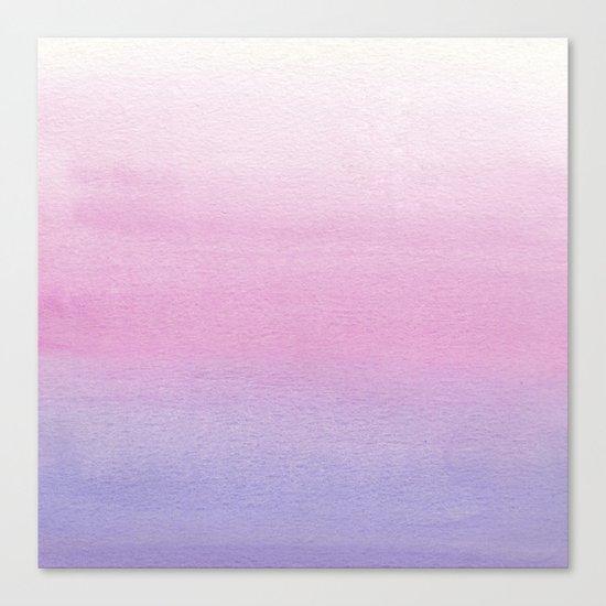 Pastel colors Canvas Print