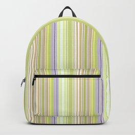 Lime Green Stripe, Ballard Cliff Spring Backpack