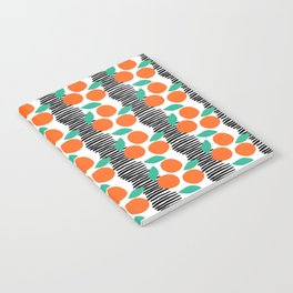 Citrus and Stripes Notebook