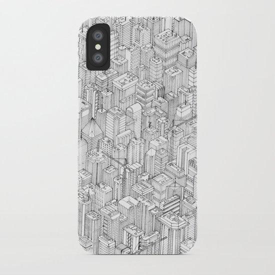 Isometric Urbanism pt.1 iPhone Case