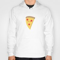 pizza Hoodies featuring Pizza by Melissa Sohmer