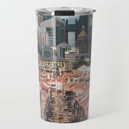 Old and New: Singapore Chinatown Travel Mug