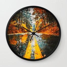 An Autumn full of Magic Wall Clock