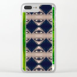Psychedelic Nudes 332 Clear iPhone Case
