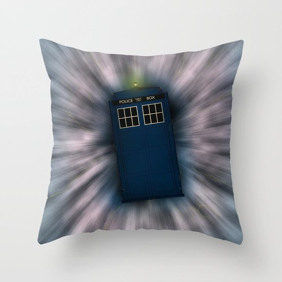 Doctor Who - Call me a Doctor..... Allons-y! Throw Pillow
