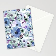 FLOWERS WATERCOLOR 20 Stationery Cards