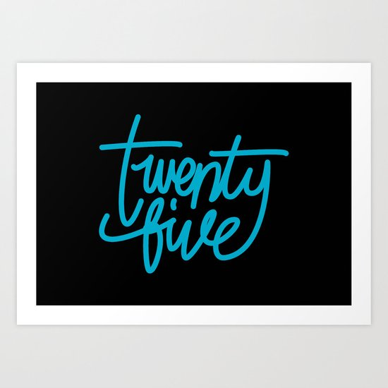 20five Art Print
