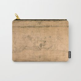 Map of Havana 1762 Carry-All Pouch