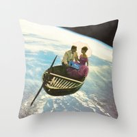 lovers Throw Pillows featuring Lovers by flirst