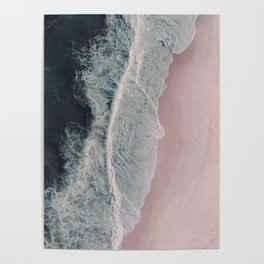 Sands of Cameo Pink Poster