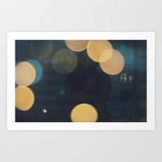 the night and me Art Print