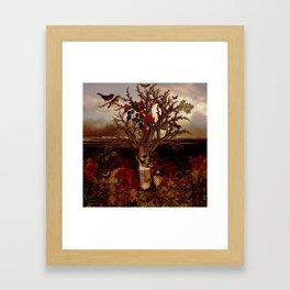 Cernunnos II Framed Art Print