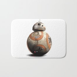 BB-8 by dana alfonso Bath Mat