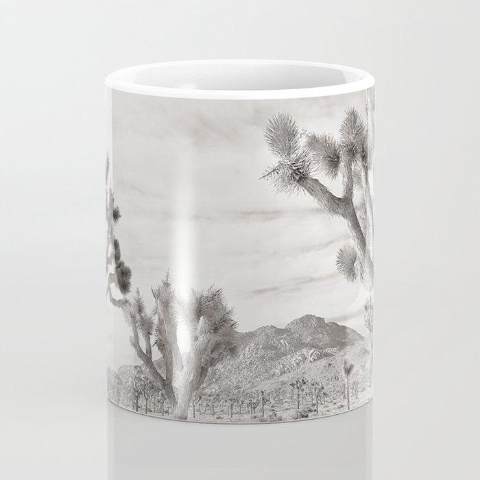 Joshua Tree Grey By CREYES Coffee Mug