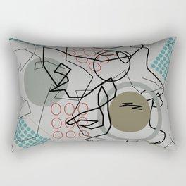Abstract 8 Rectangular Pillow