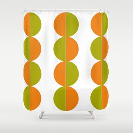 Peas and carrots Shower Curtain