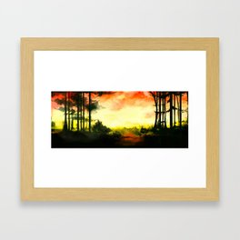 Wonderlust Framed Art Print