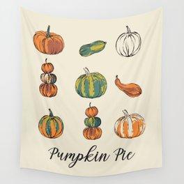 Pumpkin pie Wall Tapestry