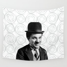 Charlie Chaplin Old Hollywood Wall Tapestry
