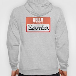 Cool Santa Claus Gift Idea Father Christmas Saint Nicholas Papa Noel Halloween Costume Presents Sack Hoody