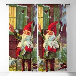 """""""The Presents Have Arrived"""" by Jenny Nystrom Blackout Curtain"""