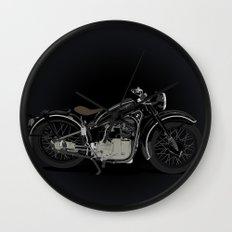 1937 Black Wall Clock