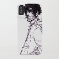 grantaire iPhone & iPod Cases featuring Grantaire by batcii