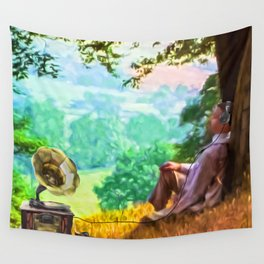 Out of time - Down time Wall Tapestry
