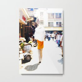 Mumbai Crowds - Dadar Station and Market - 9 Metal Print