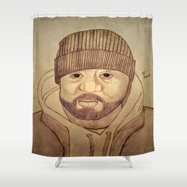 Ghostface by Double R Shower Curtain