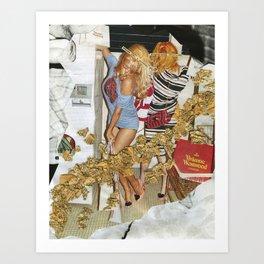 Fashion Whore  Art Print