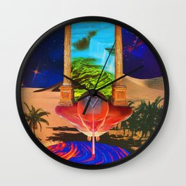 The Last Oasis Wall Clock