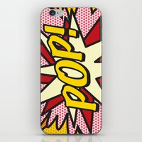 comic book iPhone & iPod Skins featuring Comic Book POP! by The Image Zone