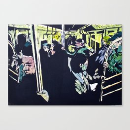 Subway (Color) Canvas Print