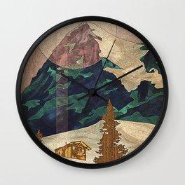 Switzerland Eiger Wall Clock