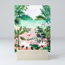 Seaside Meadow Mini Art Print