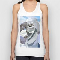 snow Tank Tops featuring Snow by Liam Brazier