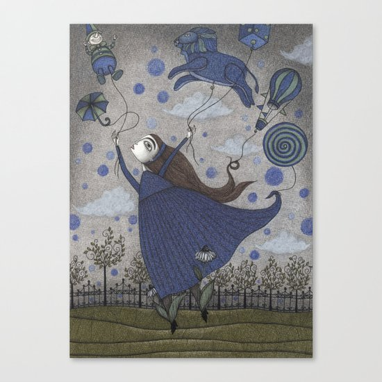 Violetta Dreaming Canvas Print