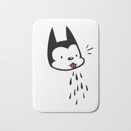 raspberry cat Bath Mat