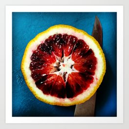 Blood Orange Art Print