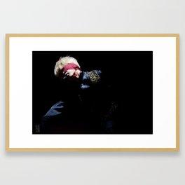 jimin Framed Art Print