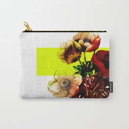 Vintage Bunch /Neon Block Carry-All Pouch