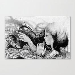 Melodía  Canvas Print