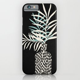 Still Life with Vase and Three Tree Branches iPhone Case