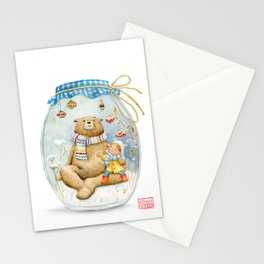 Forest stories. It´s snowing! n.11 Stationery Cards
