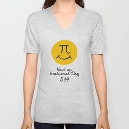 Pi Day Unisex V-Neck