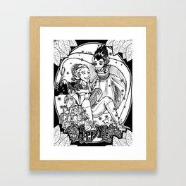 Happy Yule Framed Art Print