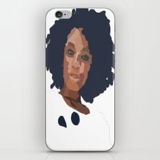 Natural Hair  iPhone & iPod Skin