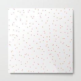 ADALYN ((cherry red)) Metal Print